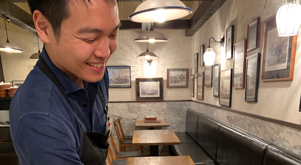 ピッツェリア ダチーボ マネージャー 鶴留 涼平