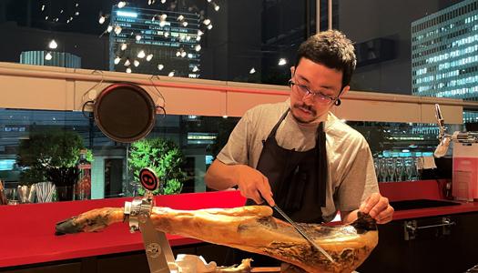バルデエスパーニャムイ料理長 米田 豊